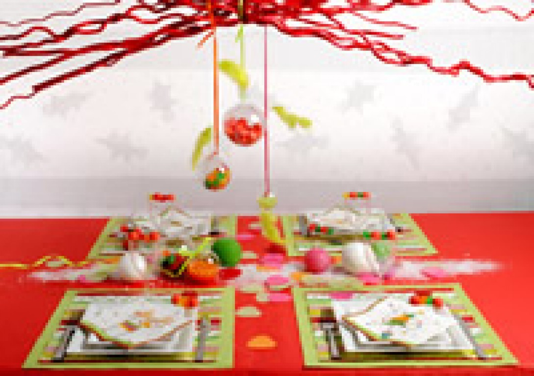 Id es de d coration de table de no l - Idee decoration de noel ...