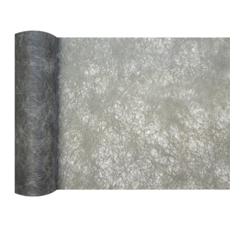 Mini chemin de table chrysalide gris - Chemin de table gris perle ...