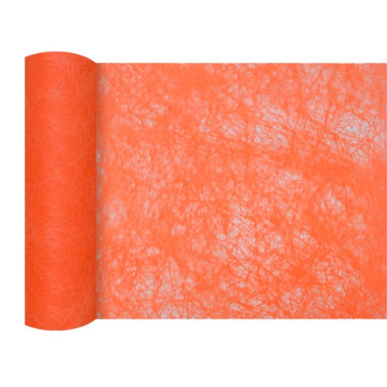 Mini chemin de table chrysalide orange - Chemin de table orange ...