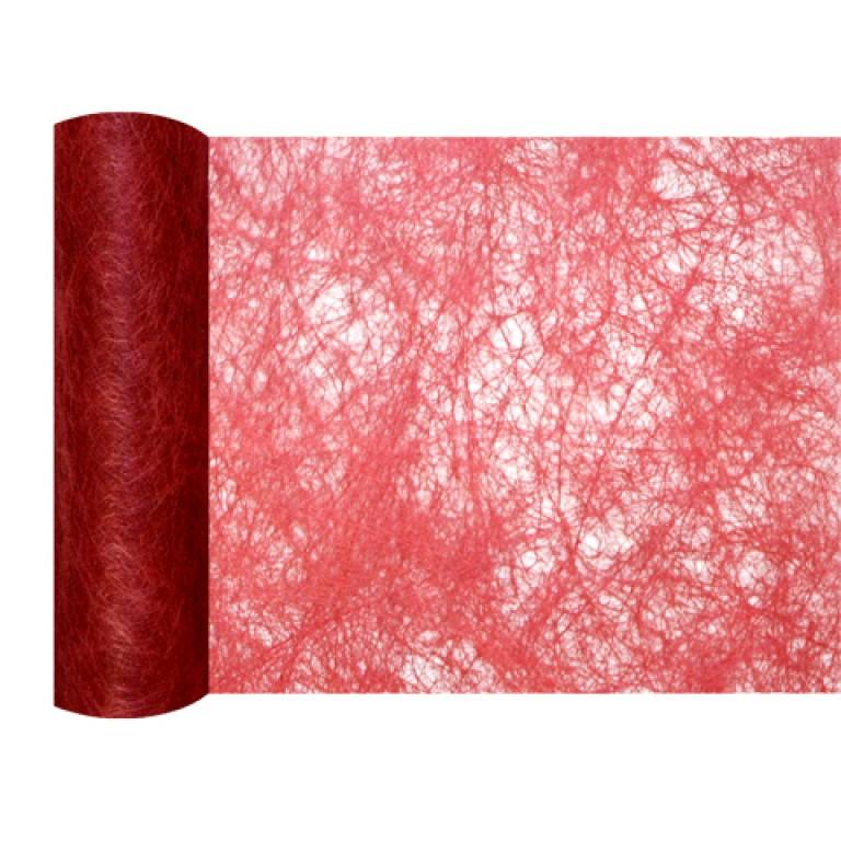 Mini chemin de table chrysalide rouge - Chemin de table rouge mariage ...