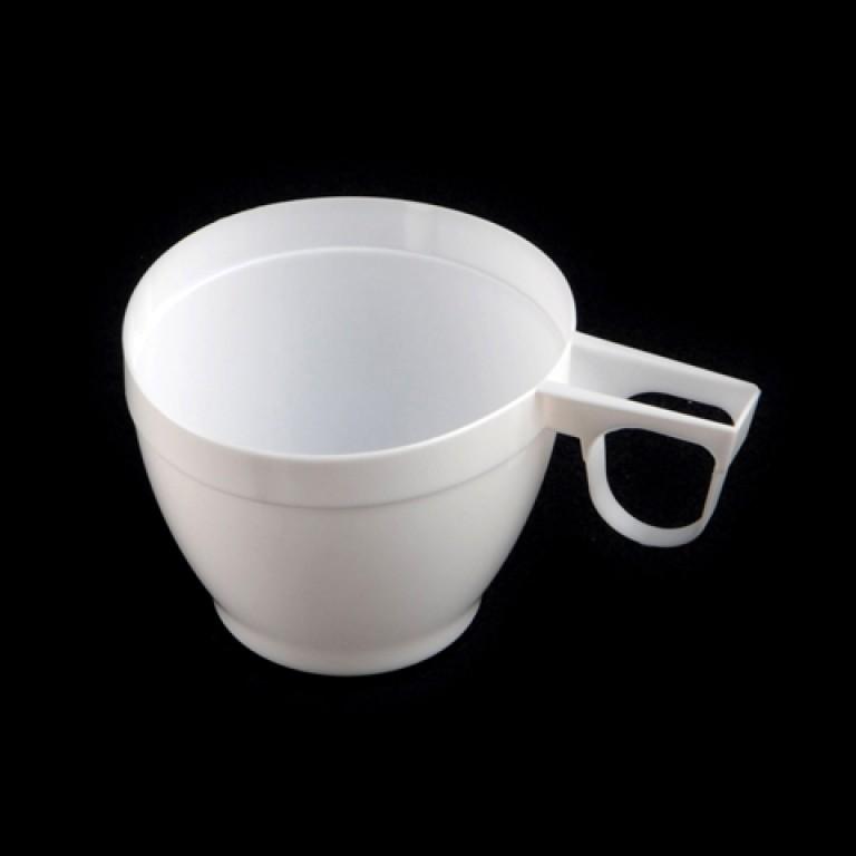 40 tasses expresso 8 cl plastique opaque blanc. Black Bedroom Furniture Sets. Home Design Ideas